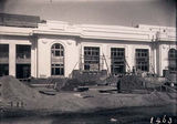 Picture relating to Parliament House - titled 'Old Parliament House front facade, under construction.'