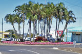 "Picture relating to Bundaberg - titled 'Bourbon st ""Roundabout"" Bundaberg. Original exclusive street landscape photo art.'"