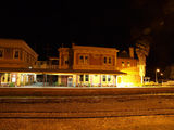 Picture relating to Werris Creek - titled 'Werris Creek station at night (3)'