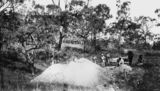 Picture relating to Queensland - titled 'Gold mining, ca. 1869'