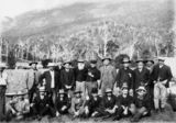 Picture of / about 'Lamington Plateau' Queensland - Group of businessmen and politicians in the Numinbah Valley