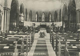 Picture relating to Townsville - titled 'Interior view of St. James Cathedral, Townsville, ca. 1900'