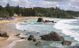 Picture relating to Port Macquarie - titled 'Flynn's Beach, Port Macquarie'
