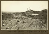 Picture relating to Mount Isa - titled 'Looking towards the mill from below the tailings dam, Mt. Isa Mines, 1932'
