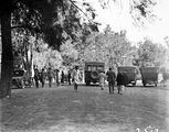 Picture relating to Canberra - titled 'Visit to Canberra by a party of English school boys - At the Cotter picnic grounds'