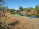 Picture relating to Junction Creek - titled 'Junction Creek at Old Telegraph Repeater Station'