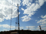 Picture relating to Mount Nameless - titled 'Communication towers Mount Nameless summit'