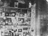 Picture relating to Balnagowan - titled 'Interior view of the homestead at old Balnagowan Station'