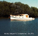 Picture relating to Brisbane - titled 'Brisbane- Serpentine Creek Cribb Island'