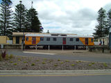 Picture relating to Goolwa - titled 'Number 428 Train Coming at the Goolwa Railway Station'