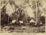 Picture relating to Warra - titled 'Selector's camp at Warra in central Queensland'