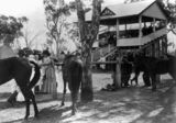 Picture relating to Inglewood - titled 'Socialising at Inglewood Racecourse, ca. 1912'