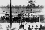 Picture relating to Rockhampton - titled 'Beginning of the second aeroplane flight in Queensland, June 1912'