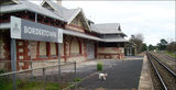 Picture relating to Bordertown - titled 'Bordertown Railway Station'