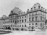 Picture relating to Brisbane - titled 'Parliament House, Brisbane, ca. 1879'