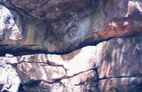 Gibb River Road Isolated pockets of Aboriginal Rock Art could be found along the road.