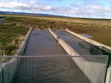 Picture of / about 'Liawenee' Tasmania - Inland Fisheries Service fish trap on the Liawenee canal