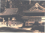 Picture of / about 'Brisbane' Queensland - Brisbane B.C.O.F. Soldiers outside Shinto Temples - 1946