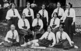 Picture relating to Maryborough - titled 'Group portrait of the Maryborough Girls Grammar School cricket team, 1915'