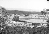 Picture relating to Ainslie - titled 'View from Mt Ainslie, Haig Park and Ainslie houses.'