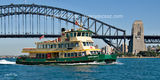 Picture relating to Sydney - titled 'The BORROWDALE  Ferry on Sydney Harbour.'