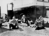 Picture relating to Queensland - titled 'Travelling dental service, ca. 1928'