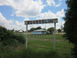 Picture relating to Wooroolin - titled 'Wooroolin - site of old railway station'