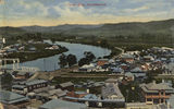 Picture of / about 'Tweed River' New South Wales - Tweed River at Murwillumbah, New South Wales, ca. 1911