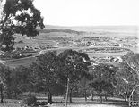 Picture relating to Duntroon - titled 'View from Red Hill over Collins Park, Manuka and Kingston to Duntroon.'