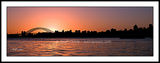 Picture relating to Sydney - titled 'Pink Sunset Sydney Skyline.  Original photo Art .Sydney'