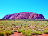 Picture relating to Uluru / Ayers Rock - titled 'Uluru / Ayers Rock'