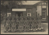 Picture relating to Melbourne - titled 'Officers of the 2nd Light Horse Regiment, Queensland, 1914'