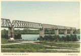 Picture relating to Charters Towers - titled 'Burdekin Railway Bridge, Charters Towers, 1904'