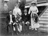Picture relating to Nambour - titled 'Wedding of Alice Aird and William Lax, 1914'