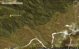 Picture relating to Sweeneys Mine - titled 'Sweeneys Mine-Google Earth Image'