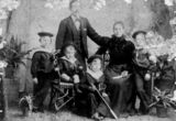 Picture relating to Queensland - titled 'Portrait of Franz Viertel and family, ca. 1896'