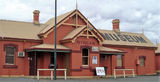 Picture relating to Nyngan - titled 'Nyngan Railway Station and Museum'