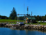 Picture relating to Bermagui - titled 'Bermagui Fisherman's Official Weigh Station'