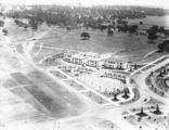 Picture of / about 'Kings Avenue' the Australian Capital Territory - Ariel view over East Block and Kings Avenue, looking west.