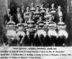 Picture relating to Port Denison - titled 'Port Denison (Juniors) Rugby League Team, 1921'