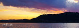 Picture relating to Gosford - titled 'Intense  Gold - Sunset Brisbane waters - Central coast nsw.'
