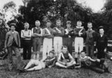 Picture relating to Queensland - titled 'School football team, 1900-1905'