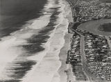 Picture relating to Main Beach - titled 'Aerial view of Main Beach and Narrow Neck, ca. 1952'