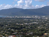 Picture relating to Cairns - titled 'Cairns city view from City View'