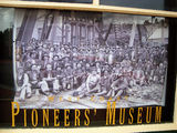 Picture relating to Zeehan - titled 'Zeehan Pioneers'