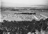 Picture relating to Reid - titled 'Reid from Mt Ainslie. Glebe House in centre.'