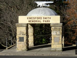 Picture relating to Katoomba - titled 'Kingsford Smith Memorial Park Katoomba'
