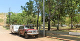 Picture relating to Lake Argyle - titled 'Caravan Park Lake Argyle'