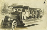 Picture relating to Rockhampton - titled 'Passengers on the Park Avenue route bus, Rockhampton'