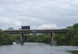 Picture relating to Parramatta River - titled 'James Ruse Drive road bridge, Parramatta River'